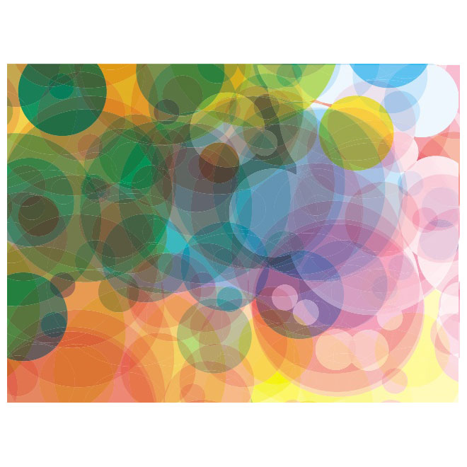 Colorful Bubbles 4 Background Free Vector