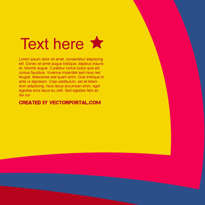 Colorful Graphics Background Free Vector