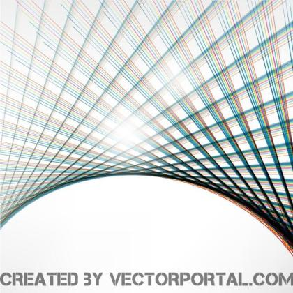 Colorful Grid Background Free Vector