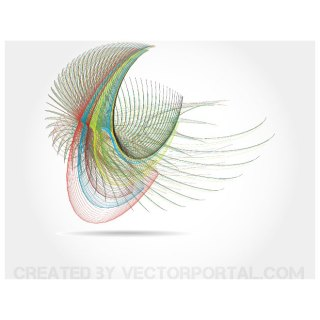 Colorful Lines Free Vector