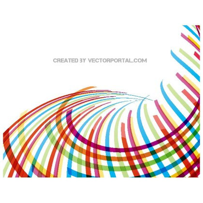 Colorful Stripes Stock Image Free Vector