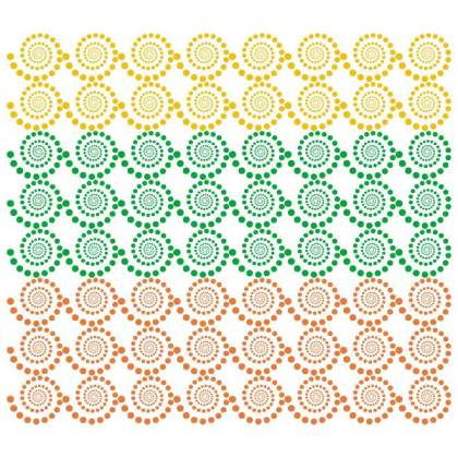 Colorful Swirled Dots Background Free Vector