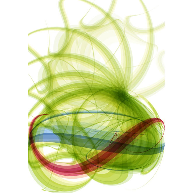 Colorful Swoosh Stock Free Vector