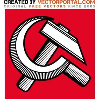 Communist Retro Sign Free Vector