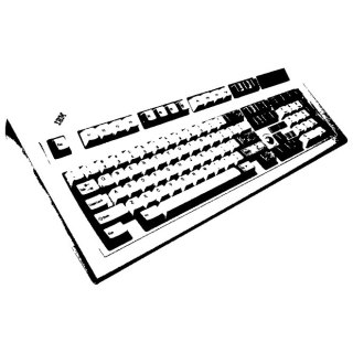 Computer Keyboard Free Vector
