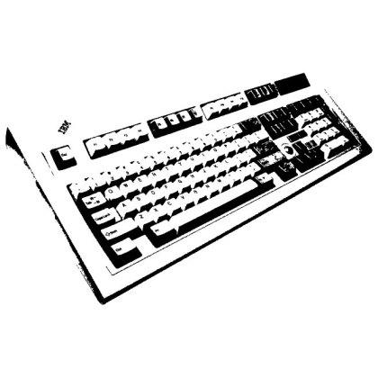 Computer Keyboard Free Vector