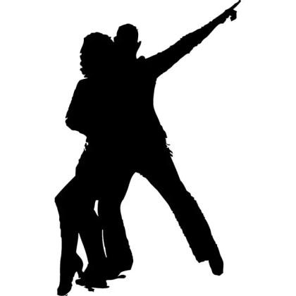 Couple Dancing Free Vector