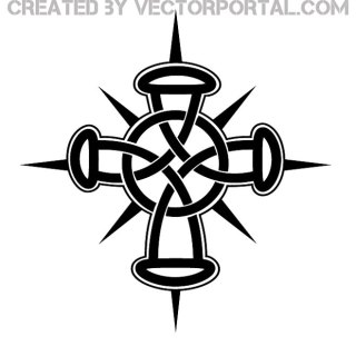 Cross Knot Image Free Vector
