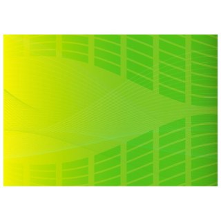 Curved Lines on Green Backdrop Free Vector