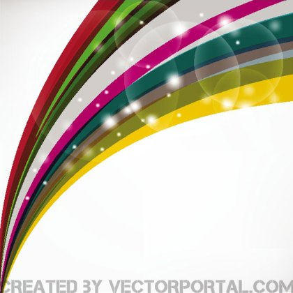 Curved Stripes Free Vector