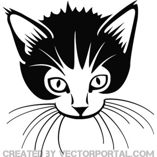 Cute Cat Free Vector