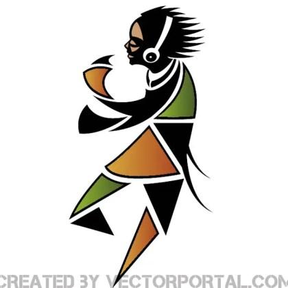 Dancer Illustration Free Vector