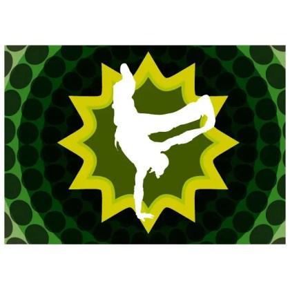 Dancer Silhouette Stock Free Vector