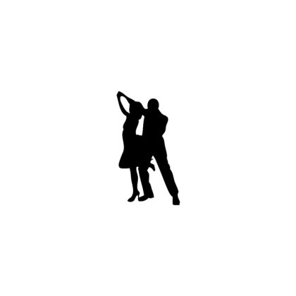 Dancer Silhouettes Graphics Free Vector