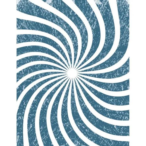 Dark Blue Sunbeam Grunge Background Free Vector
