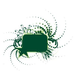 Dark Green Box Free Vector