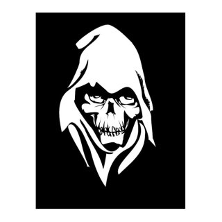 Death Face Free Vector