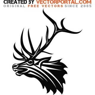 Deer Graphics Free Vector