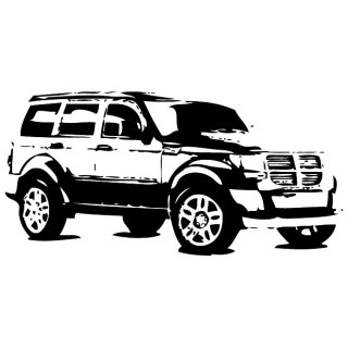 Dodge Nitro Free Vector