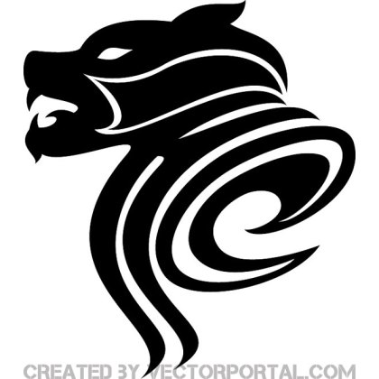 Dog Tribal Free Vector
