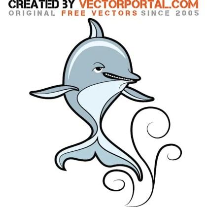 Dolphin Stock Graphics Free Vector