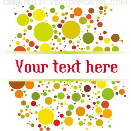 Dotted Graphic Background Free Vector