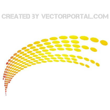 Dotted Stock Element Free Vector