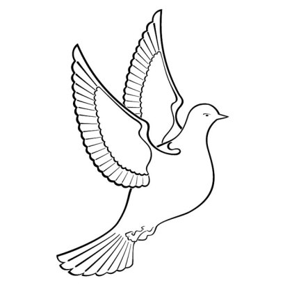 Dove Clipart Free Vector