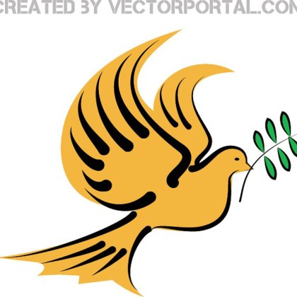 Dove of Peace Image Free Vector