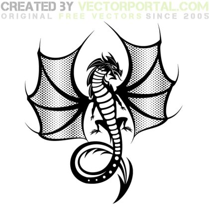 Dragon Beast Graphics Free Vector
