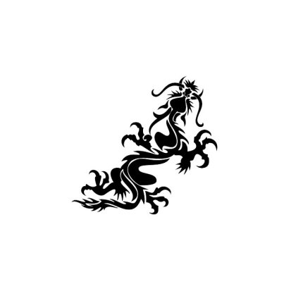 Dragon Black Clip Art Free Vector