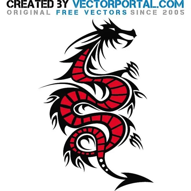 Dragon Creature Free Vector