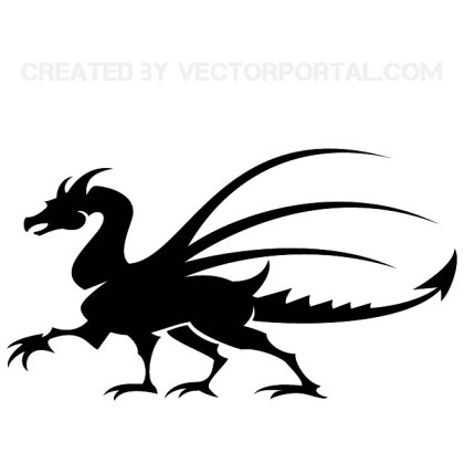 Dragon Free Art Free Vector