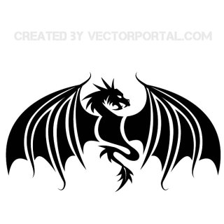 Dragon Graphics Free Vector