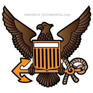 Eagle Crest Image Free Vector