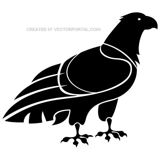 Eagle Illustration Vp. Free Vector