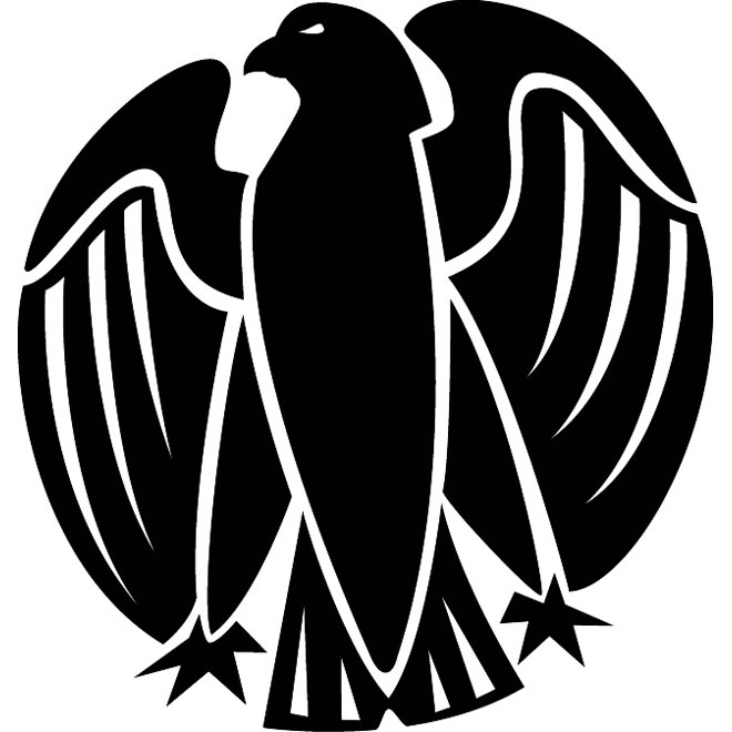 Eagle Spread Wings Image Free Vector