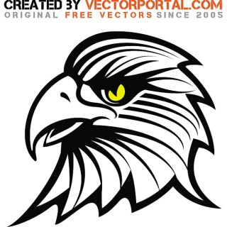 Eagle Stock Drawing Free Vector