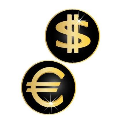 Euro Dollar Free Symbols Free Vector