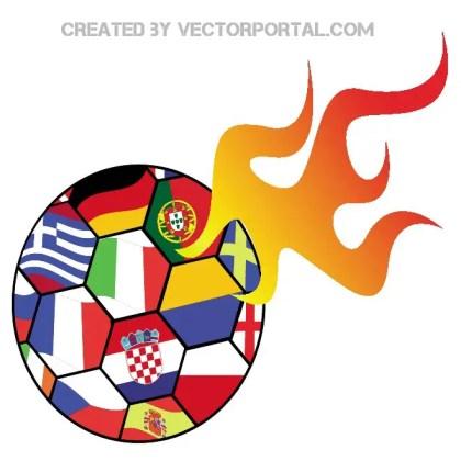 Euro Soccer 2012 Clip Art Free Vector
