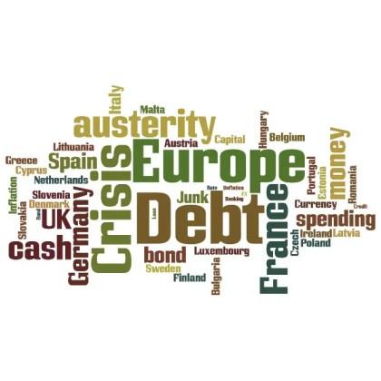 European Debt Crisis Cloud Free Vector