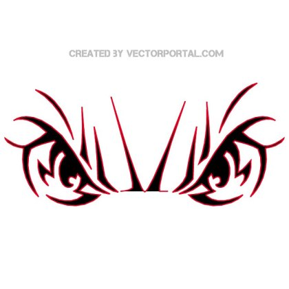 Eyes Clipart Free Vector