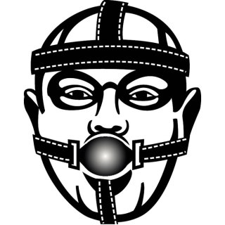 Face Restraint Mask Free Vector