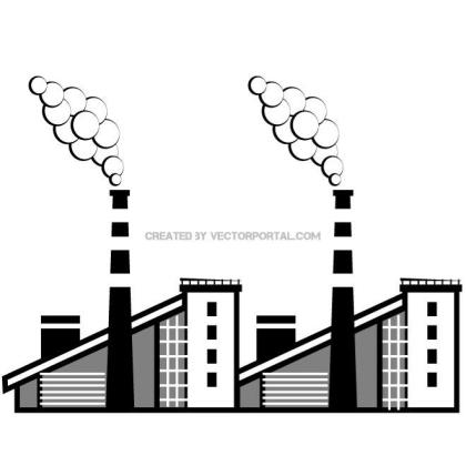 Factory Graphics Free Vector