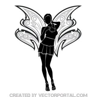 Fairy Girl Image Free Vector
