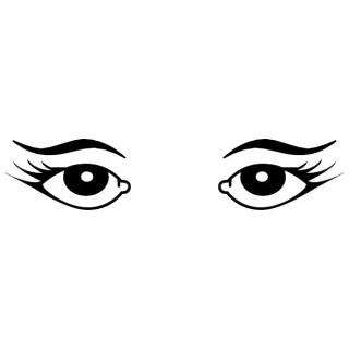 Female Eyes Image Free Vector