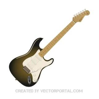 Fender Stratocaster Guitar Free Vector