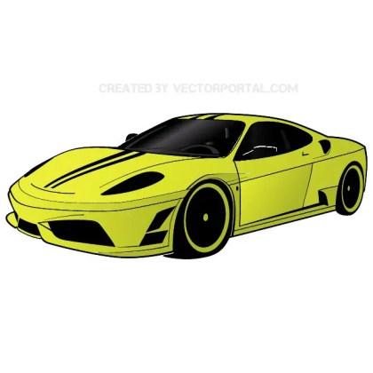 Ferrari Car Free Vector