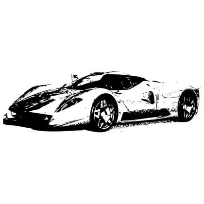 Ferrari Image Free Vector