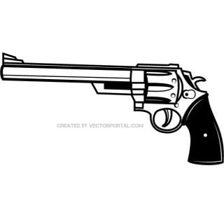 Firearm Clip Art Free Vector